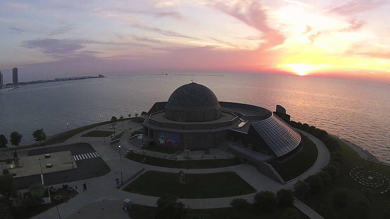 Sunrise Over Adler Planetarium