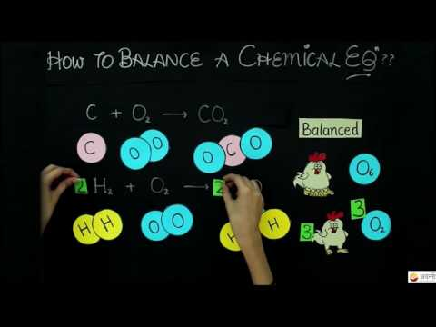 Class 10 Science - Chemistry - How to Balance a Chemical Equation