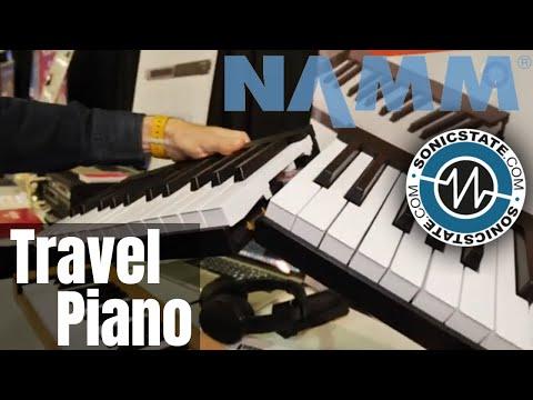 Namm 2019 Backpack-friendly Keyboard - Piano de Voyage - YouTube