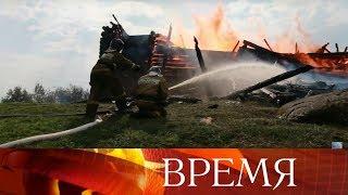 В Карелии задержан 15-летний подросток, которого подозревают в поджоге деревянной церкви XVIII века.