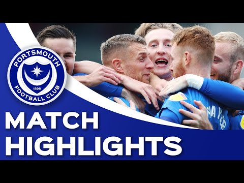 Portsmouth Milton Keynes Goals And Highlights