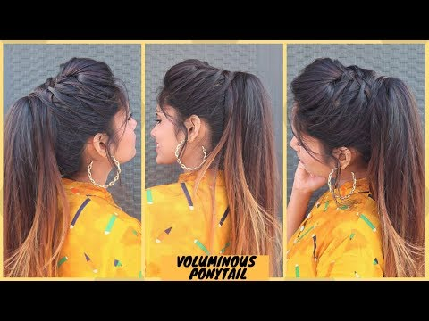 easy-voluminous-ponytail-hairstyle-without-extensions-/high-wedding-ponytail-hairstyle