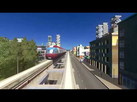 Cities Skylines - Roccamare2 (DLC Industries and Mass Transit) |