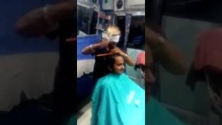 Blind Hair Cutting Aavkar Parlor Master Sanjaybhai