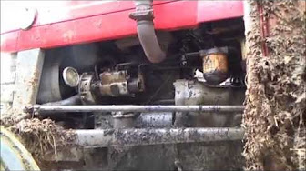 Changing a fuel filter on a mccormick cx95 tractor part 2 aka videos changing the oil filter on a massey ferguson 135 tractor publicscrutiny Gallery