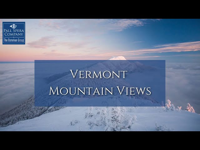 Vermont Mountain Views | The Bateman Group Realtors
