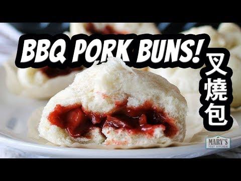 VEGAN BBQ PORK BUNS / CHAR SIU BAO / 叉燒包  | Recipe By Mary's Test Kitchen | COLLAB W/ THE VIET VEGAN