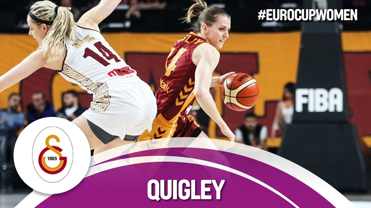 Alexandria Quigley erupts for 37 points in first-leg Final