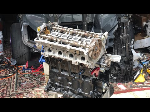 Audi A4 1.9T Big Turbo AEB Head SWAP Assembly | Part 2