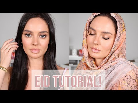 Glowing & Summery Makeup Tutorial for Eid! \\ Chloe Morello thumbnail