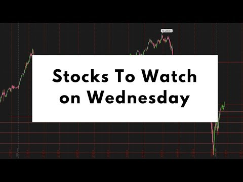 $AMD $DIS $SPY | Top Stocks To Watch On Wednesday | Day Trading Weekly Options