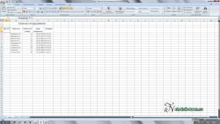 Excel: от простого к сложному Урок 2, вставка столбцов и строк
