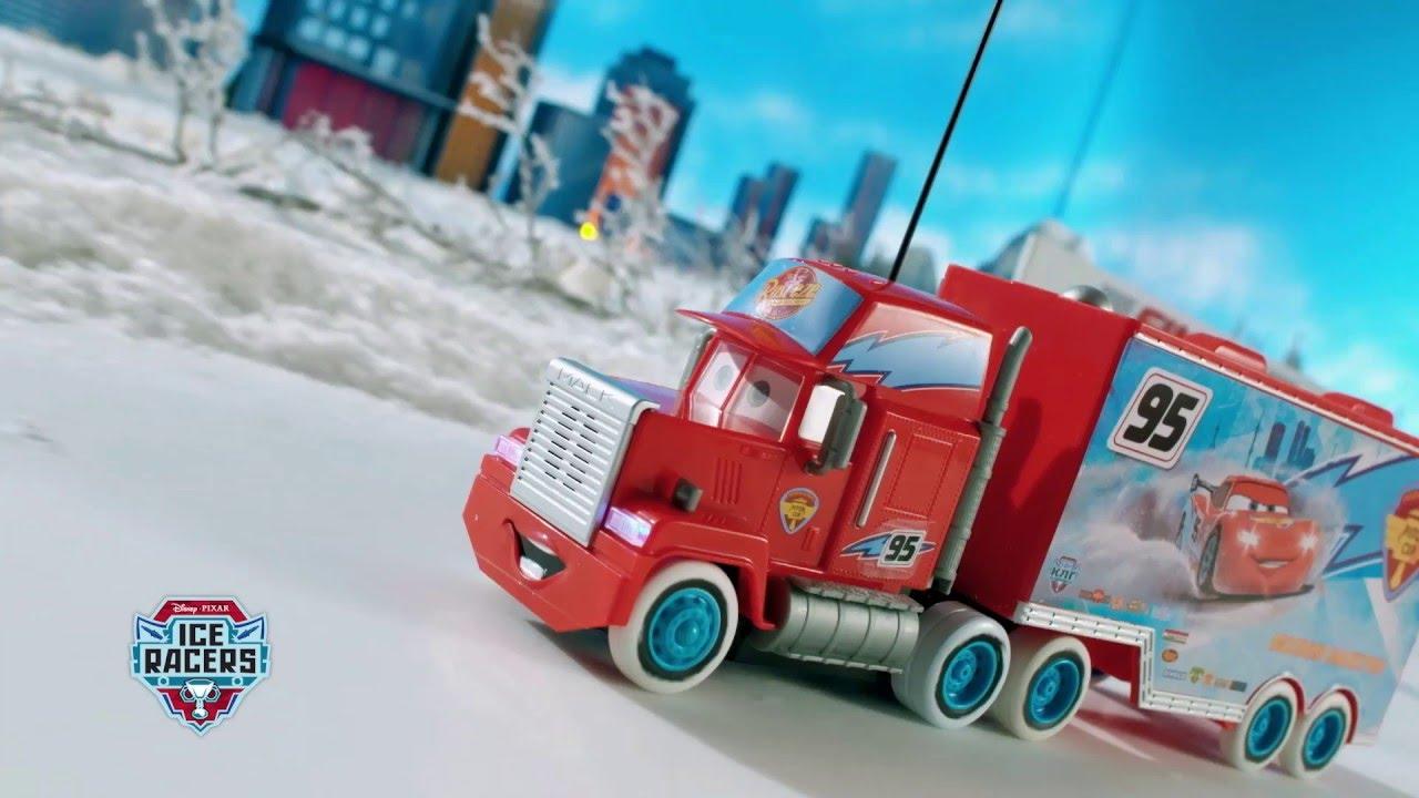 Camion cars mack ice radiocommand 1 24 de smoby youtube - Cars camion mack ...