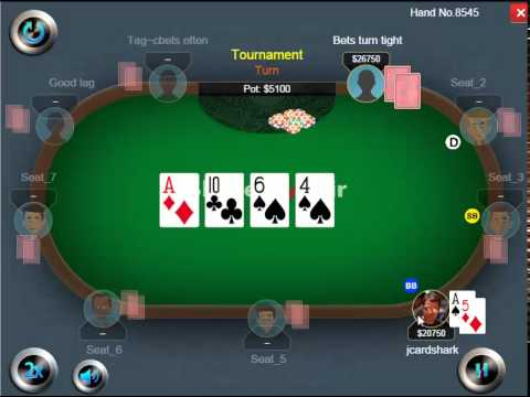 Weekly Poker Hand Episode 41 Folding Top Pair Youtube