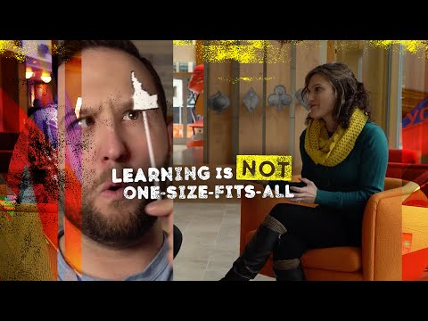 Learning Is Not One-Size-Fits-All