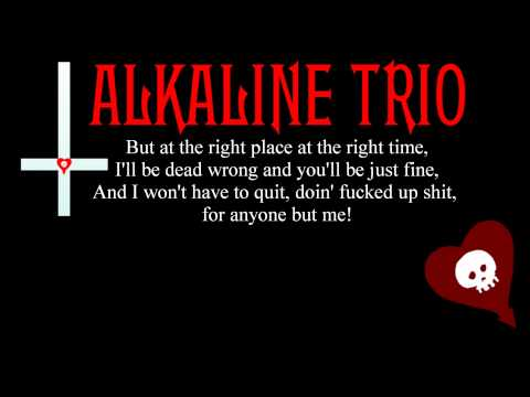 Alkaline Trio - Private Eye (Lyrics)