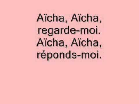 1 CHANSONS FRANÇAISES   AICHA + PAROLES   CHEB KHALED