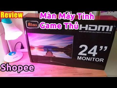 Trên tay màn hình máy tính cho game thủ Atas 24 inch giá rẻ chất lượng như nào?