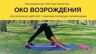 Око возрождения (5 Тибетцев). Омолаживающая гимнастика. 5 упражнений. Рекомендации