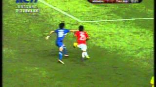 Indonesia vs Thailand (3-1 SEA Games 2011 Highlight Babak I)
