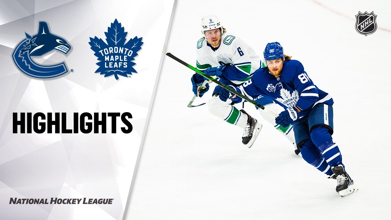 Canucks @ Maple Leafs 2/4/21 | NHL Highlights - NHL