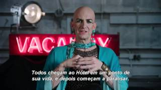 Inside American Horror Story: Hotel - Creep Out With Wes Bentley