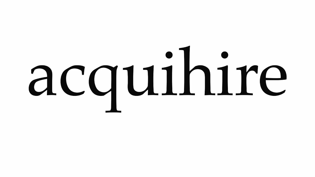 Image result for acquihire
