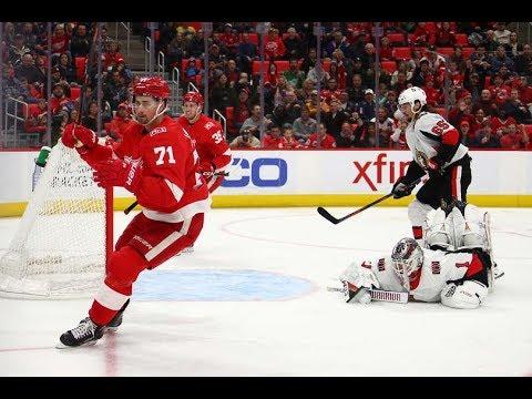 Game 78-Goose Egg-Ottawa Senators vs Detroit Red Wings 2017-18