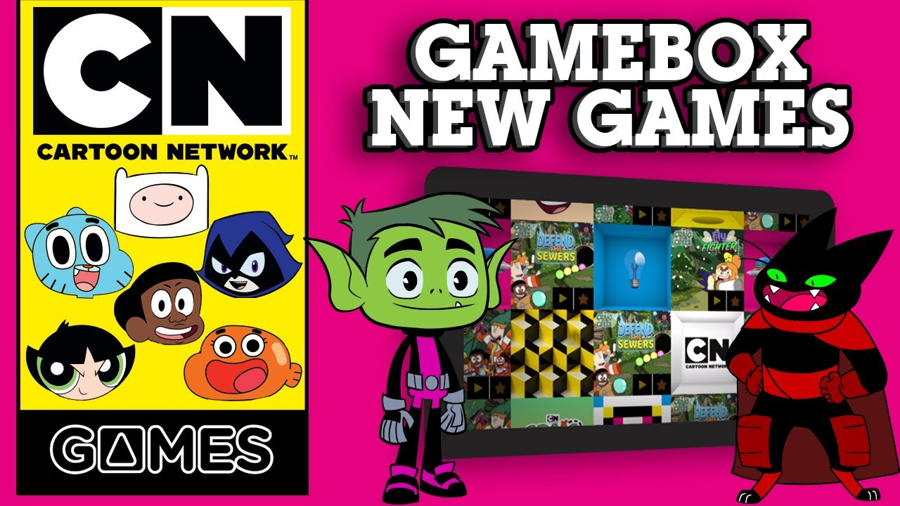 Cartoon Network GameBox | New FREE Games | Cartoon Network UK 🇬🇧