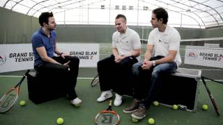 Jordan Henderson and Tom Cleverley Go Head to Head at Grand Slam Tennis 2