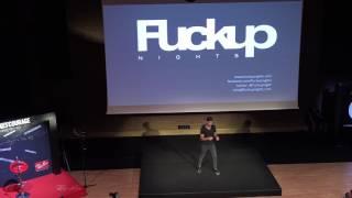 FuckUp Nights Vol. X Roni Arda Elmaoğlu