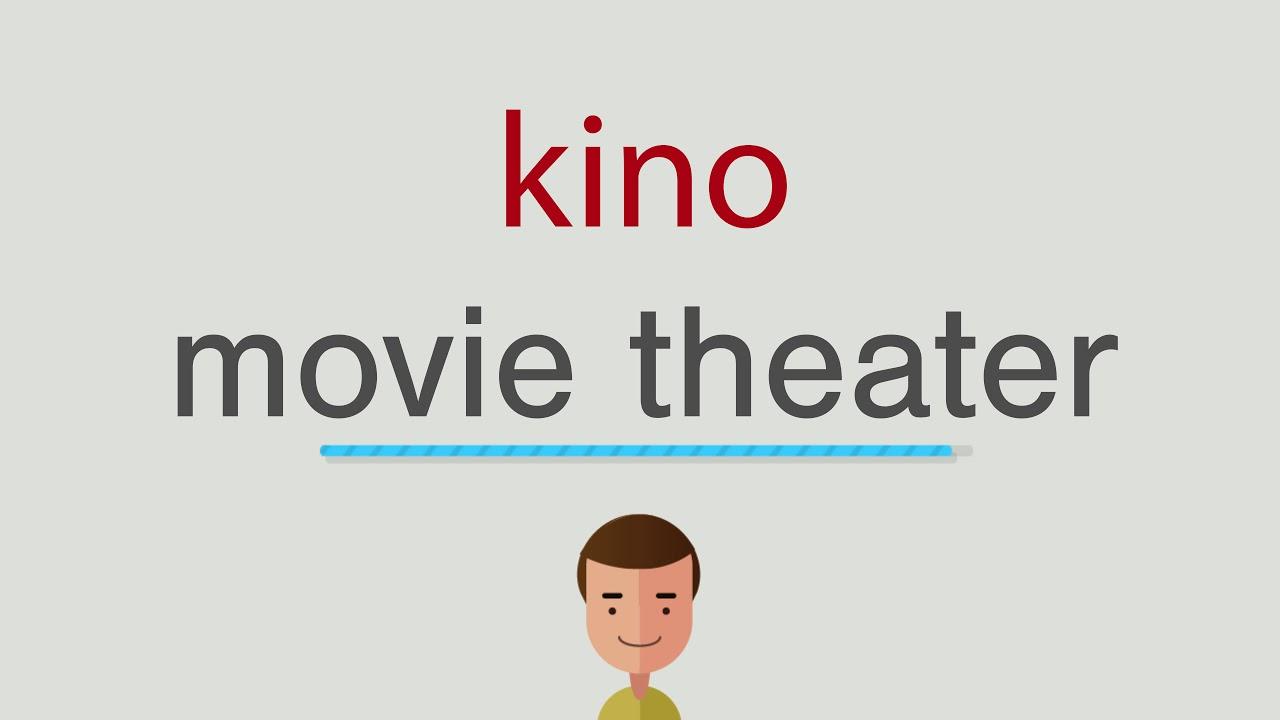 Wie heißt kino auf englisch - YouTube