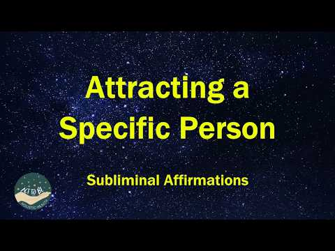 Attracting a Specific Person Sleep Subliminal Affirmations with Theta Binaural Beats