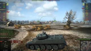 AMX 50 100 gameplay - Ace Tanker - World of Tanks - 9.9 XVM mod pack