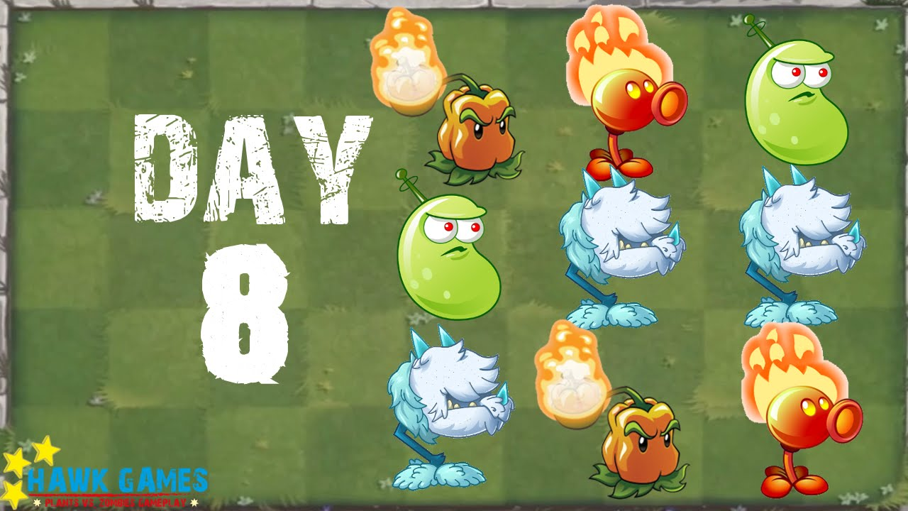 plants vs zombies 2 modern day day 8 beghouled no premium