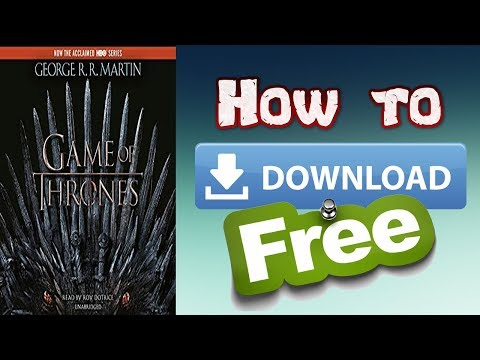 How To Download A Game Of Thrones: A Song Of Ice And Fire By George R. R. Martin For Free Tutorial