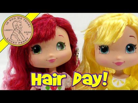 Strawberry Shortcake & Lemon Meringue Styling Dolls!