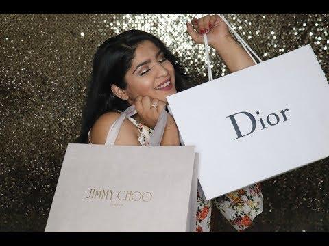 Luxury Fashion Haul | Burberry, Dior, Jimmy Choo & More!