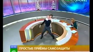 Драка в прямом эфире канала НТВ
