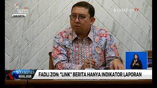 Ajukan Link Berita Jadi Bukti di MK, Fadli Zon: Link Berita Hanya Indikator Laporan