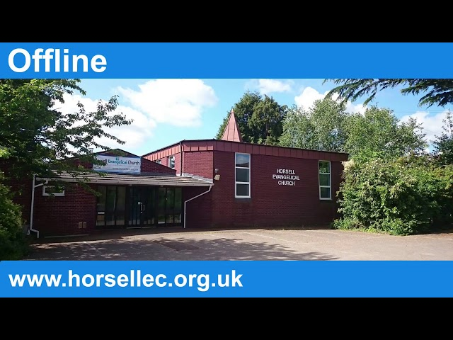 01/11/2020 - Horsell Evangelical Church - Evening Service
