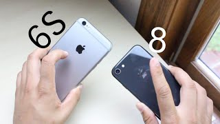iPHONE 6S/ 6S Plus Vs. iPHONE 8! (Should You Upgrade?)
