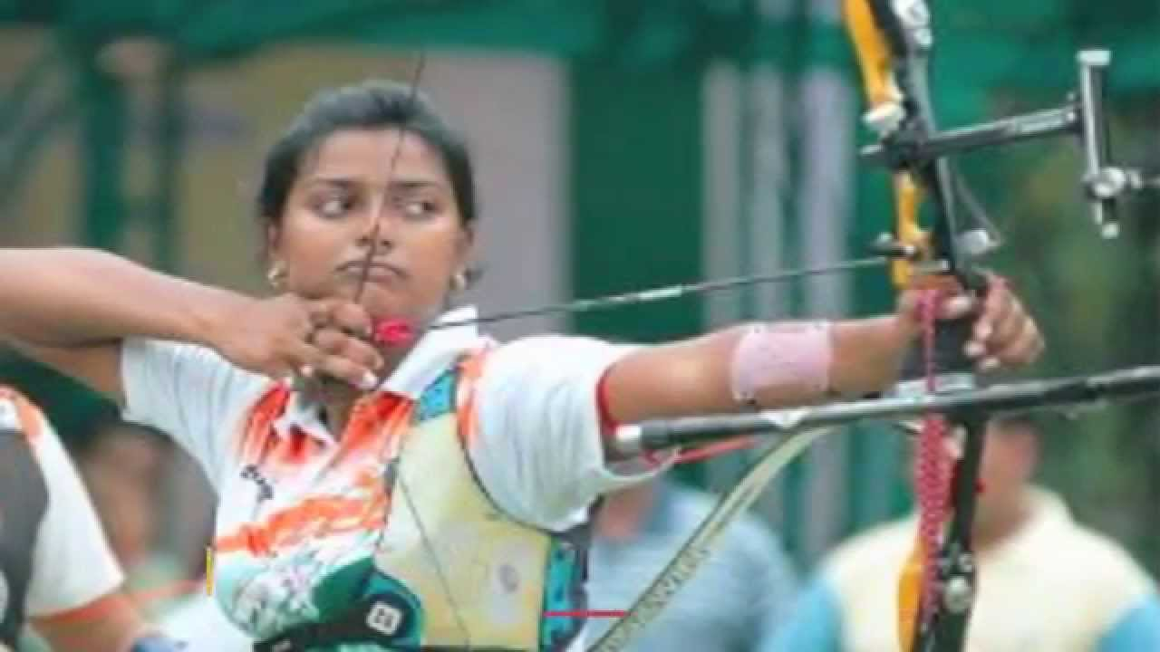 Indian Women Archery Team Earns Rio Olympic Berths - YouTube