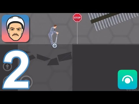 Happy Wheels Mobile - Gameplay Walkthrough Part 2 - Business Guy: Levels 6-10 (iOS, Android)