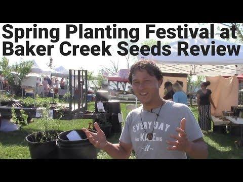 Spring Planting Festival at Baker Creek Heirloom Seeds Tour + Review