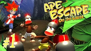 Ape Escape: On the Loose ~The Lost Land~ Part 1