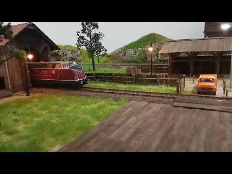 ESU Diesel Locomotive (HO Scale)