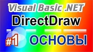 Основы DirectDraw на Visual Basic.NET 1