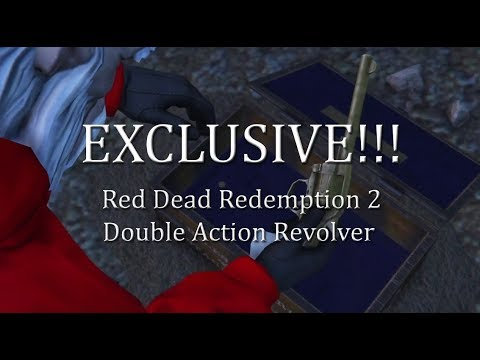 Exclusive! Red Dead Redemption 2 gun unlocked and $250,000 on GTA V Online - Double Action Revolver