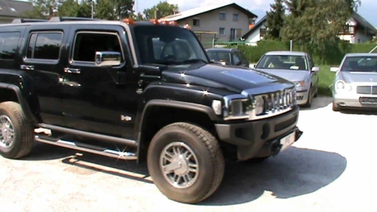 2007 hummer h3 3 7 4s luxury automatic full review start up engine and in depth tour youtube